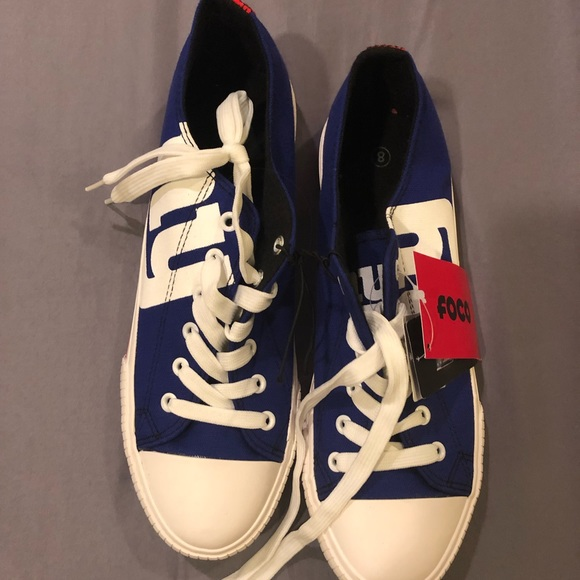 Converse Shoes   Ny Giants Style